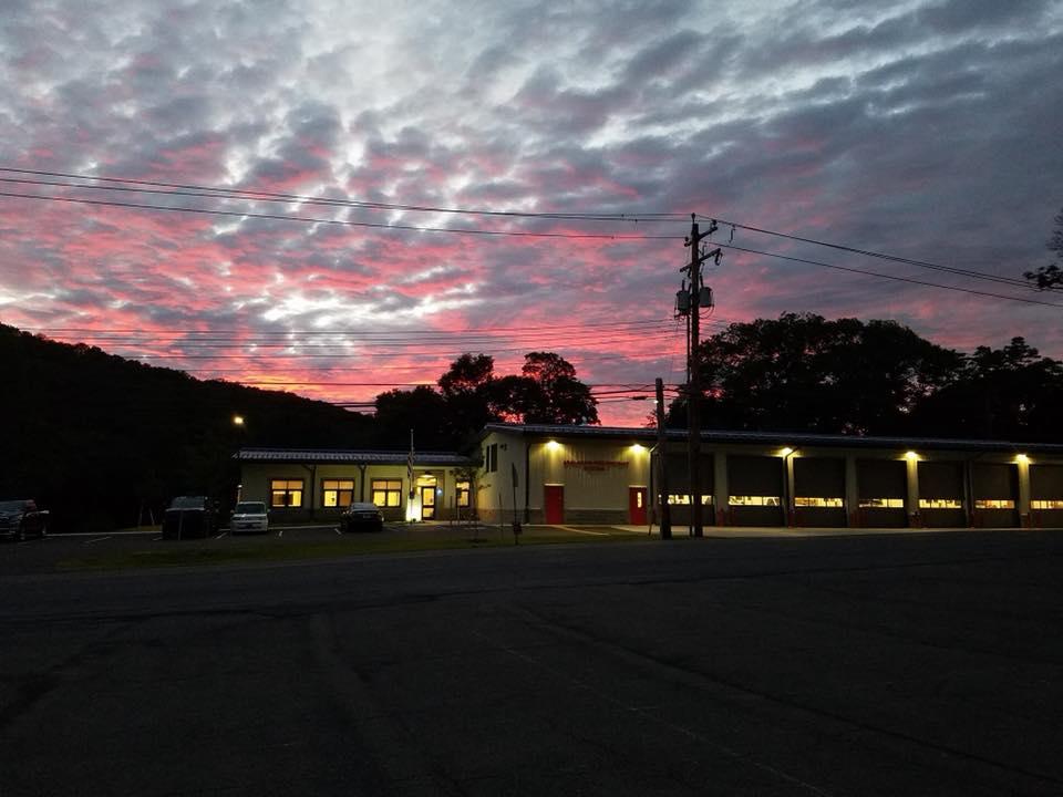 Station 1 at Twilight